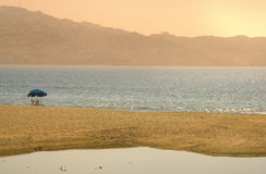 Baia di Acapulco, Messico Fotografia Stock