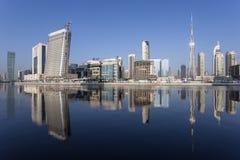 Baia di affari del Dubai Fotografie Stock