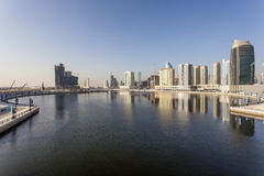 Baia di affari del Dubai Immagine Stock