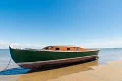 Baia di Arcachon, Francia, peschereccio tipico Fotografia Stock