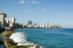 Baia di Avana, Cuba Fotografia Stock Libera da Diritti