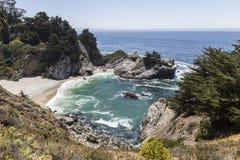 Baia di Big Sur Immagini Stock