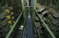 Baia di bomba B-17 Immagini Stock