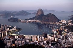 Baia di Botafogo Immagine Stock Libera da Diritti