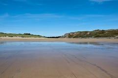 Baia di Broadhaven, Pembrokeshire Galles Fotografia Stock Libera da Diritti