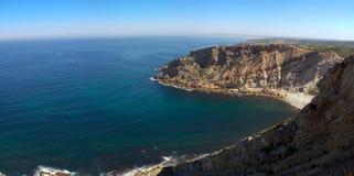Baia di Cabo Espichel Immagini Stock