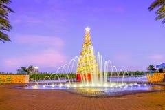 Baia di Camana, albero di Natale fotografia stock libera da diritti