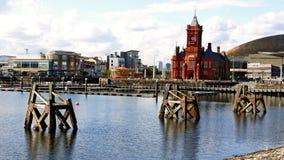 Baia di Cardiff immagine stock