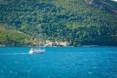 Baia di Cattaro - il Montenegro Fotografia Stock Libera da Diritti