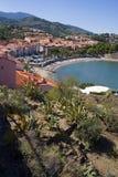 Baia di Collioure Immagini Stock