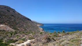 Baia di Creta immagine stock