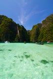 Baia di disposizione di Phi, Tailandia Fotografia Stock Libera da Diritti