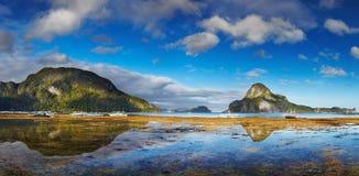 Baia di EL Nido, Filippine Immagini Stock