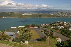 Baia di Evans. Vicinanza di Wellington fotografia stock libera da diritti