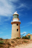 Baia di Exmouth, Australia Vista del faro fotografie stock libere da diritti