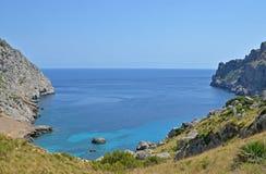 Baia di Formentor Fotografie Stock