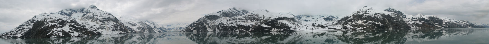 Baia di ghiacciaio Fotografie Stock