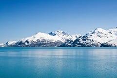 Baia di ghiacciaio, Alaska Immagini Stock