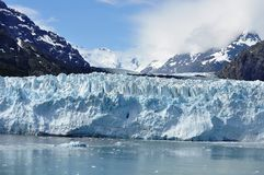 Baia di ghiacciaio, Alaska Fotografie Stock