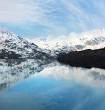 Baia di ghiacciaio, Alaska Fotografie Stock Libere da Diritti