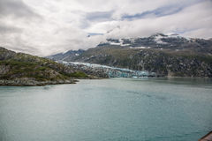 Baia di ghiacciaio Alaska Fotografie Stock