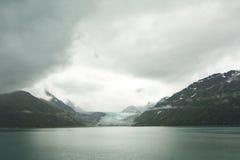 Baia di ghiacciaio Alaska Immagini Stock Libere da Diritti