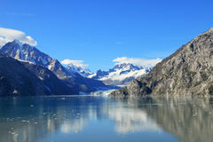 Baia di ghiacciaio - Alaska fotografia stock