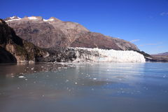 Baia di ghiacciaio - Alaska immagini stock