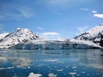 Baia di ghiacciaio dell'Alaska Fotografia Stock Libera da Diritti