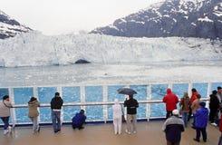 Baia di ghiacciaio dell'Alaska Fotografia Stock