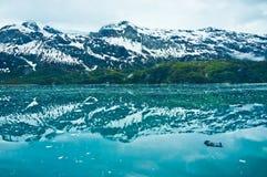Baia di ghiacciaio nell'Alaska, Stati Uniti Immagini Stock