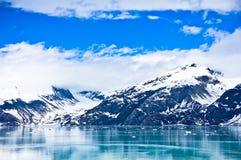 Baia di ghiacciaio nell'Alaska, Stati Uniti Immagine Stock Libera da Diritti