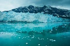Baia di ghiacciaio nell'Alaska, Stati Uniti Fotografia Stock Libera da Diritti