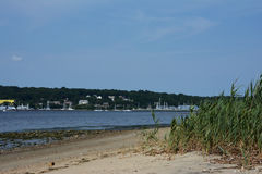 Baia di Greenwhich, Rhode Island, U.S.A. Fotografie Stock Libere da Diritti