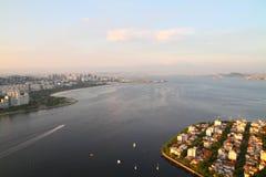 Baia di Guanabar - Rio de Janeiro Fotografia Stock Libera da Diritti