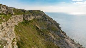 Baia di hallelujah, isola di Portland, costa giurassica, Dorset, Regno Unito fotografie stock libere da diritti