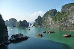 Baia di Halong, Vietnam Immagine Stock Libera da Diritti