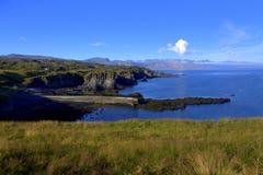 Baia di Hellnar sull'Islanda Immagini Stock Libere da Diritti