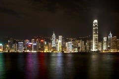 Baia di Hong Kong Fotografia Stock
