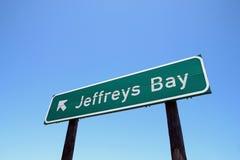 Baia di Jeffreys, surfspot di fama mondiale Immagine Stock Libera da Diritti