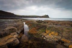 Baia di Kimmeridge, Dorset fotografia stock