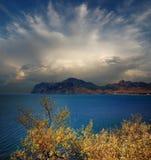 Baia di Koktebel, Crimea Fotografia Stock