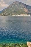Baia di Kotor, Montenegro Fotografia Stock Libera da Diritti