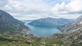 Baia di Kotor, Montenegro stock footage
