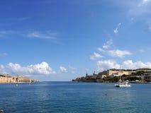 Baia di La Valletta immagini stock libere da diritti