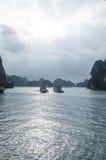 Baia di lunghezza dell'ha nel Vietnam Immagini Stock Libere da Diritti