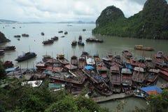 Baia di lunghezza Vietnam dell'ha immagini stock libere da diritti