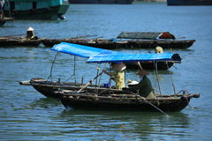Baia di lunghezza Vietnam dell'ha fotografia stock libera da diritti