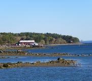 Baia di Maine Coastal Fotografia Stock Libera da Diritti