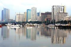Baia di Manila Fotografia Stock